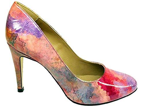 gennia-sergio-court-shoes-patent-soup-rosso-size-34