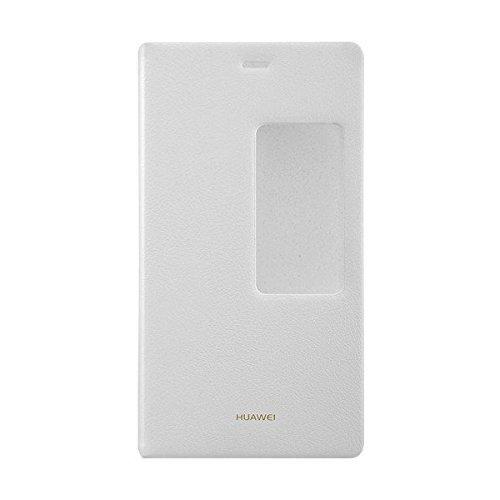 Huawei View Flip Custodia per Ascend P8, Bianco