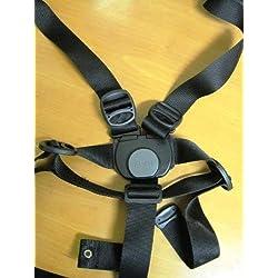 Peg Perego Sangle 5points Noir pour roulant Pilko P 3et modèle Si pour modèles à partir de 2010