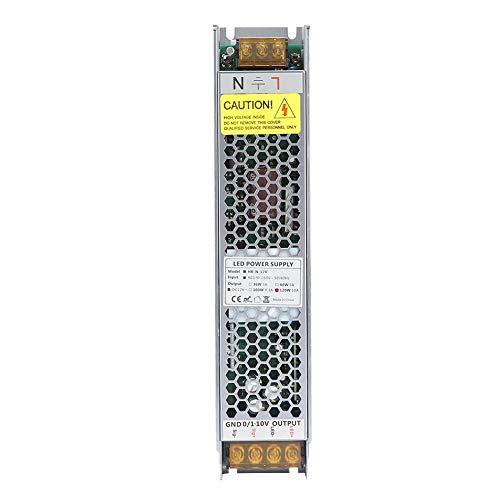 Cosiki 120W LED dimmbares Netzteil, 12V 10A LED dimmbarer Treiber mit dimmbarem Netzteiltransformator -