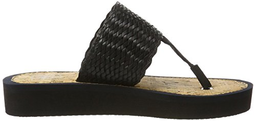 Marc O'Polo Damen 70314031004607 Beach Sandal Schwarz (Black)