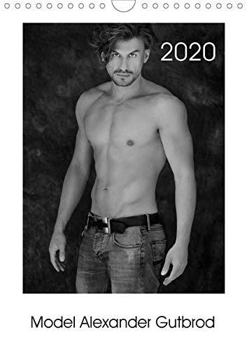 Model Alexander Gutbrod (Wandkalender 2020 DIN A4 hoch): In schwarz-weiß Bildern entdecken Sie die Model-Welt und unterschiedliche Seiten von ... 14 Seiten ) (CALVENDO Menschen)
