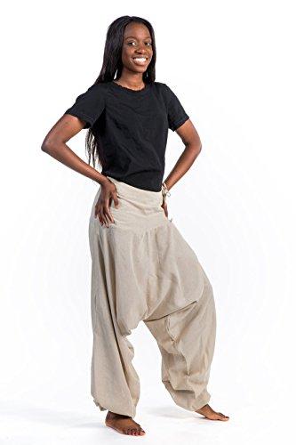 - Hose Harem Bali Baumwolle nepalais Aladin sarwel - Grau - Gris-Bleu