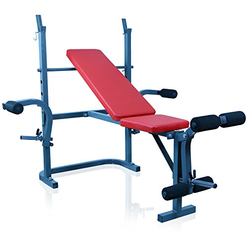 Miganeo® Bankdrückmaschine für Schulter, Brust, Trizeps, Unterarm, Bein und Rückenmuskulatur 6651