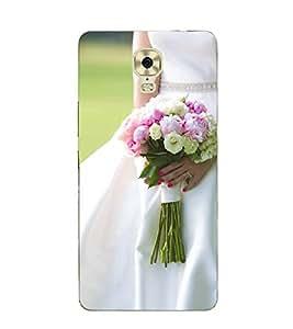 iFasho Designer Back Case Cover for Gionee M6 Plus (Brahma Kamal Jovial Rose Nozzle Tip NonpareilEliteCreamInexpedience)