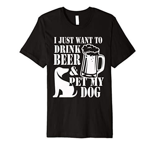 Funny Beer Shirt mit Sprüche und Zitate A Beer Lover Geschenk