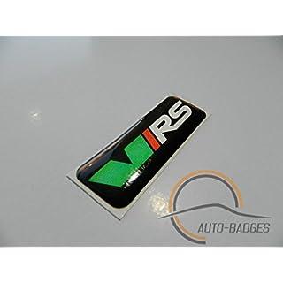 VRS Sports Plastik Badge Emblem Aufkleber