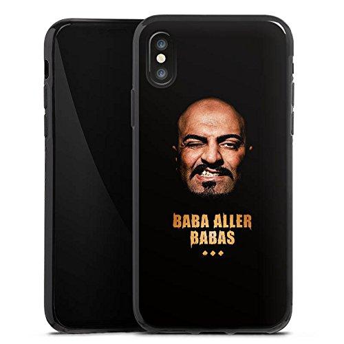 Apple iPhone X Silikon Hülle Case Schutzhülle Xatar Fanartikel Merchandise Baba aller Babas Silikon Case schwarz
