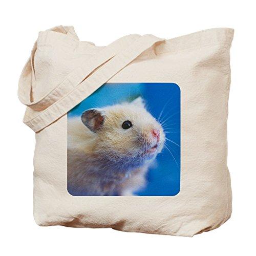CafePress-Hamster: Syrische Hamster-Leinwand Natur Tasche, Reinigungstuch Einkaufstasche S khaki -