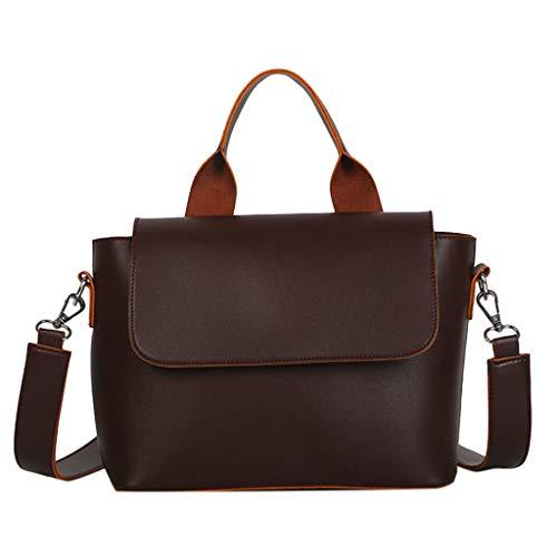LSAltd Damenmode Einfache Freizeit Tasche Handtasche Einzelne Schulter Messenger Bags