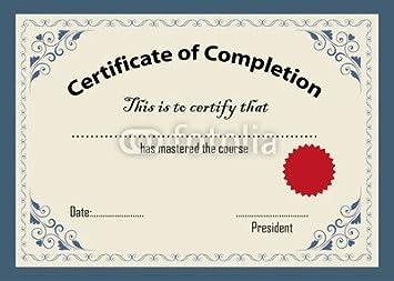 Certificate template 74562881 canvas 70 x 50 cm amazon certificate template 74562881 canvas 70 x 50 cm yadclub Image collections