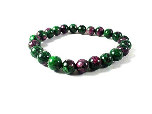 bonanza-day-sale-aa-grade-ruby-zoisite-stone-bracelet-natural-gemstone-original-stone-beads-size-8mm