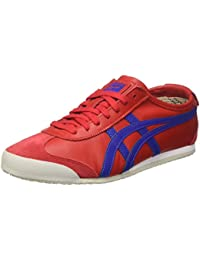 Onitsuka Tiger Mexico 66, Zapatillas para hombre, Multicolor (True Red/Asics Blue), 40 EU