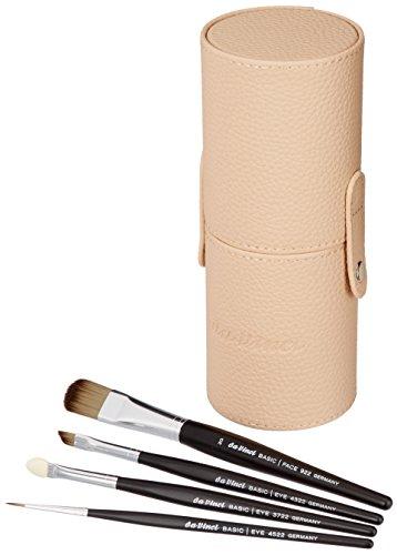 DAVINCI Boîte à pinceaux Basic avec 4 pinceaux, crème