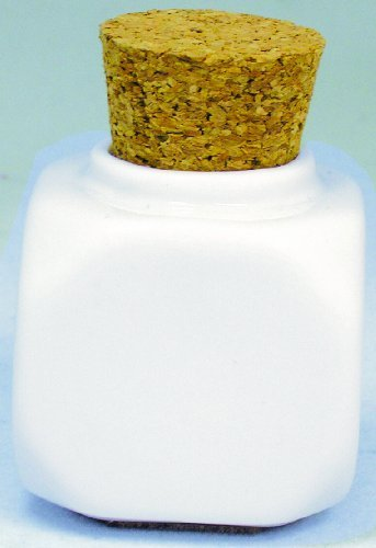Debra Lynn Professional Pot en porcelaine avec bouchon - Blanc