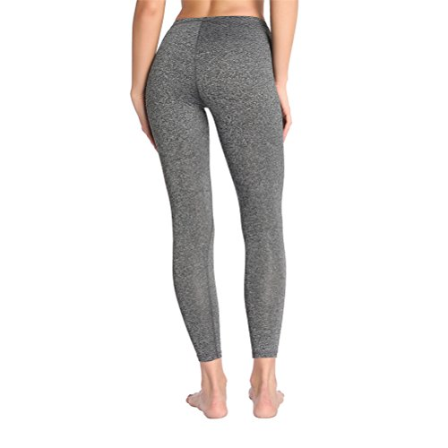 Donna Leggings yoga Fitness Slim Workout Pantaloni Elastici Vita Alta Matita M