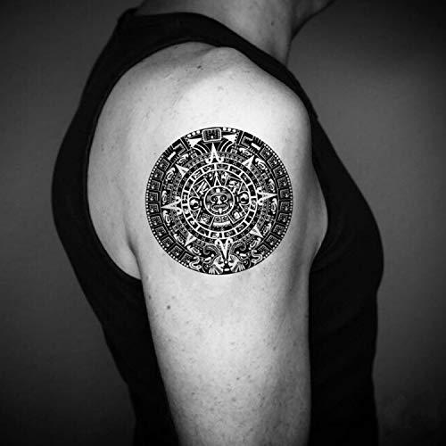 Calendario adesivo del tatuaggio temporaneo finto (set di 2) - www.ohmytat.com