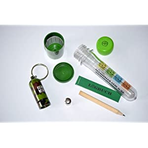 41my2XJpBVL. SS300  - Geocaching Package Starter Set 4x Micro Nano Film Canister PETling with Logbook