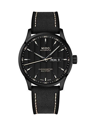 Mido Multifort Chronometer 1 Herren-Armbanduhr 42mm Textil M038.431.37.051.00