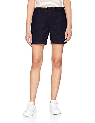 VERO MODA Damen Vmflame NW Chino Shorts Noos, Blau (Night Sky Night Sky), 34 (Herstellergröße: XS)