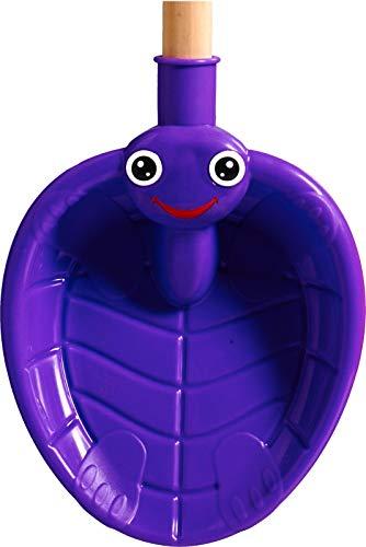 Best Sporting Schaufel Schildkröte, groß, Verschiedene Farbausführungen, Farbe:lila