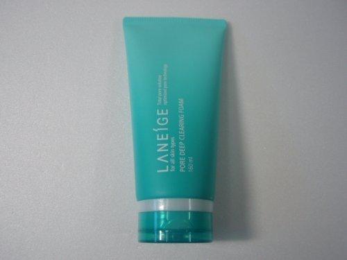 Laneige Pore Deep Clearing Foam 160ml/5oz - Hautpflege (Deep Pore Cleanser Clay)