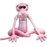 khfkdjsbfcksb Pink Plush Leopard Doll Toy Long Leg Leopard Plush Toy Pillow Girl Sleeping Pillow Cushion