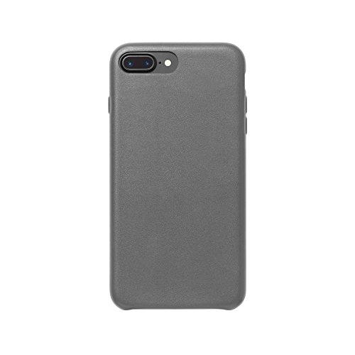 AmazonBasics - Carcasa fina de poliuretano para iPhone 7 Plus (gris oscuro)