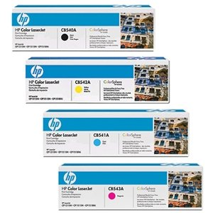 Top SET OF 4 HP ORIGINAL HP 40A CB540A CB541A CB542A CB543A Black Cyan Magenta Yellow Toners for printers Colour LaserJet CM1312, CM1312N, CM1312nfi, CM1312nfi mfp, CP1210, CP1215, CP1217, CP1510, CP1514n, CP1515, CP1515n, CP1518ni on Line
