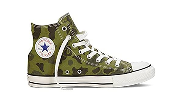 71c36be14f95 Converse Chuck Taylor High Top Men s Shoes Olive Branch Coma Green 136596f  (8.5 D(M) US)  Amazon.co.uk  Shoes   Bags