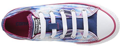 Chuck bleu Converse Taylor Bleu Sneaker kinder amp; Ox Stars Unisex blanc Bar rose Blau d1PqPxwZ