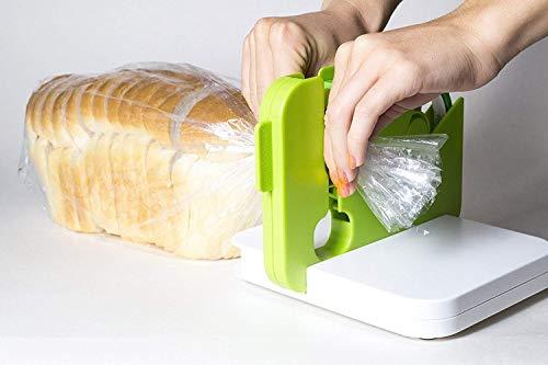 Jamunesh Sealabag Seal Machine Bag Sealer, Sealing Device Food Saver (Multicolour) (Pack of 1)