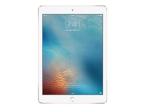Apple iPad Pro 128 GB Rosa – Tablet (volle Größe, IEEE 802.11ac, iOS, Rosa) (Facetime Wi)