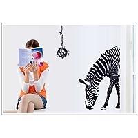 Lodicae Zebra inferiore Head Wall Stickers