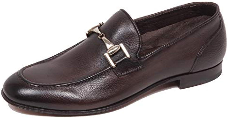 Altieri F4776 Mocassino Uomo Dark Marronee Milano Scarpe Loafer scarpe scarpe scarpe Man | Forte calore e resistenza al calore  7edbc0