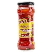 Majdi Sliced Red Jalapeno, 235 gm