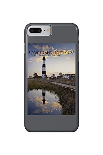 Bodie Island Lighthouse - Outer Banks, North Carolina (iPhone 7 Plus Cell Phone Case, Slim Barely There)