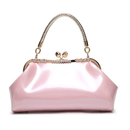 Mefly Leder Taschen Und Lederwaren Taschen Neue Helle Neue Trend Pink