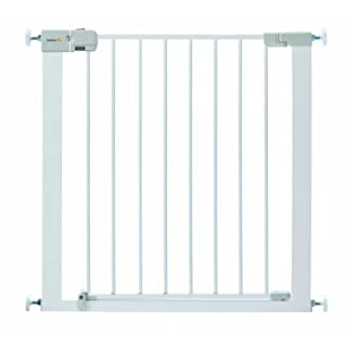 Safety 1st Simply Close Pressure Fit Metal Gate, White