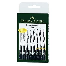 Faber-Castell 167137 Pennarello, 8 Pezzi