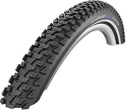 Schwalbe Unisex- Erwachsene Marathon Plus MTB HS468 Reifen, schwarz, 27.5x2.25 Zoll