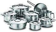 Alfa Grande Cooking set 14 pcs by Korkmaz A1089