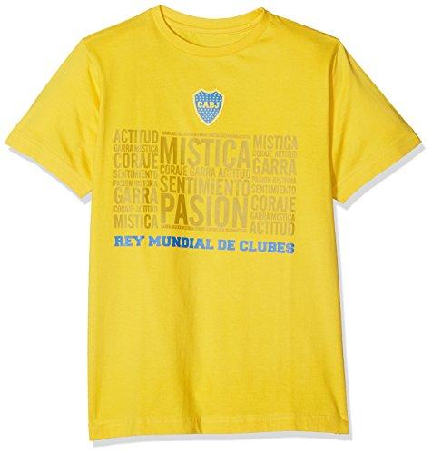 BOCA JUNIORS Mistica T-Shirt Fußball 12 Jahre gelb (Top Juniors Boca)