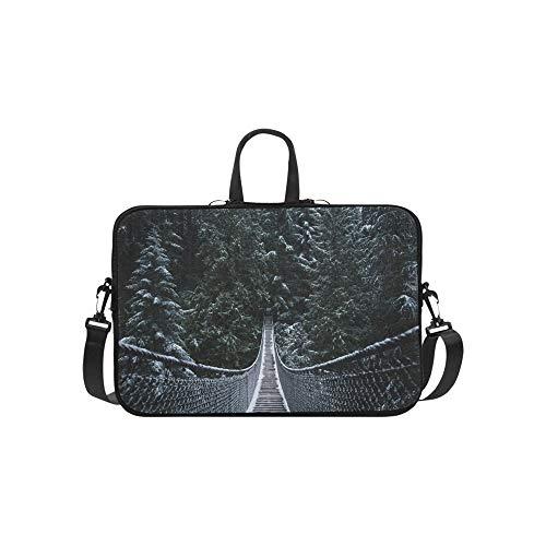 Gefährliche Hängebrücke Muster Aktenkoffer Laptoptasche Messenger Schulter Arbeitstasche Crossbody Handtasche Für Geschäftsreisen - Entdecken Kanada