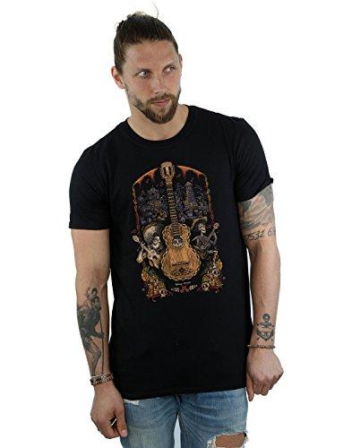 Disney Hombre Coco Guitar Poster Camiseta