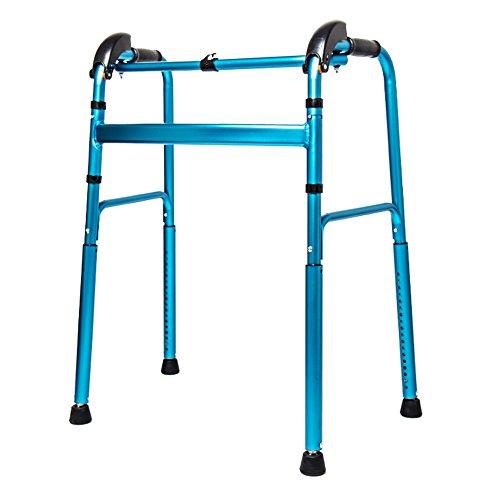 Gehhilfe XXGI Oben Und Unten Treppe Wanderer Hill Climber Alter Mann Walking Rahmen Gehbehinderte Hilfs Wanderer Für Ältere Walker & Rollator Walker (58 cm * 45 cm (2,83 * 17,72 Zoll)