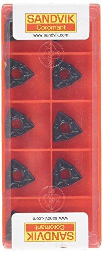 Sandvik Coromant WNMG060408-WM4315 T-Max P - Lote de 10 insertos para girar