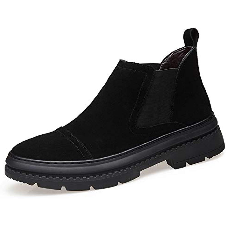 NBWE Chelsea, Automne Hiver Bottes Chelsea, NBWE Bottines décontractées Hommes, Chaussures Hautes en Velours - B07JR6ZRWM - 6bd8a8