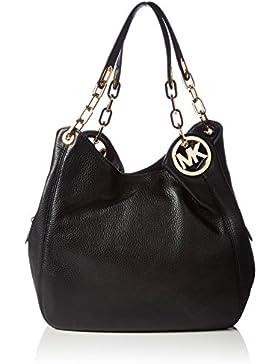 Michael Kors Fulton Large Leather Shoulder Bag 30H3GFTE3L Damen Schultertaschen 32x32x13 cm (B x H x T)