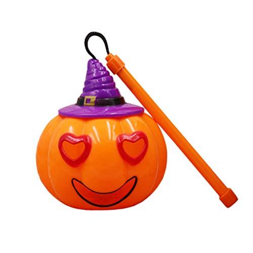 BESTOYARD Halloween-Laternen mit Stimmenaktivierung, blinkendes Licht, Requisiten, Partyzubehör für Kinder